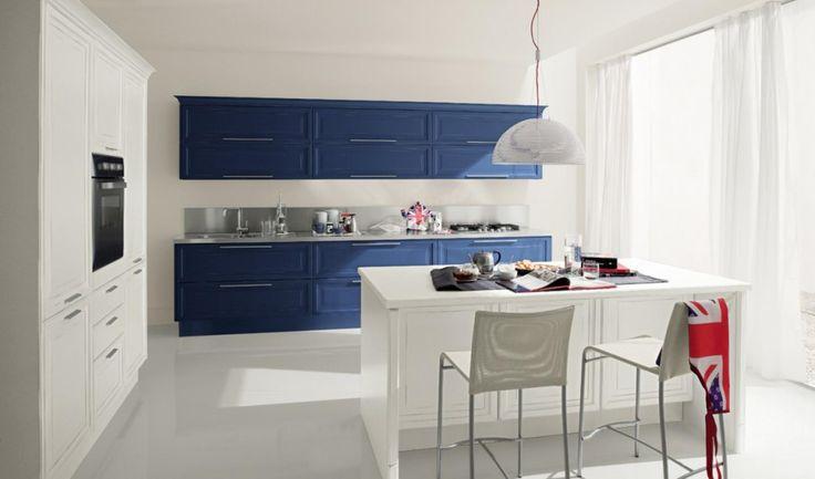 classic kitchen lady blu petrolio 2 lati Lady     Blue petroleum 2 side