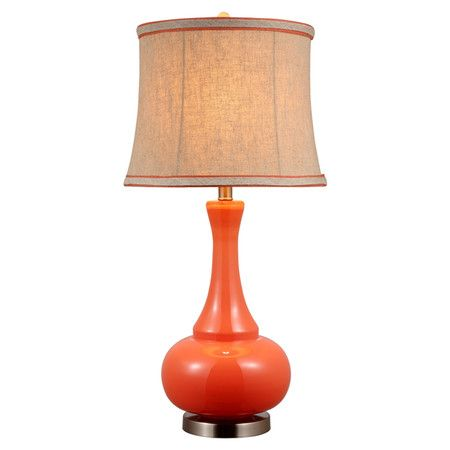 Wayfair Table Lamps >> Found it at Wayfair - Aladdin Table Lamp in Orange | things for house | Pinterest | Cookware ...