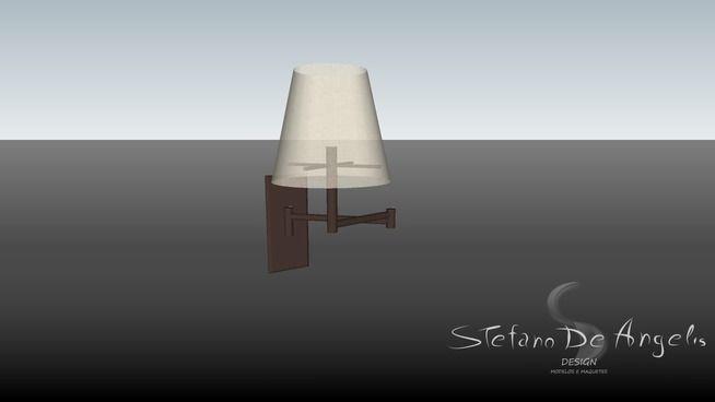 Arandela articulada - 3D Warehouse