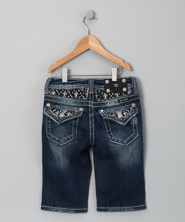 Take a look at this Vintage Bedazzled Bermuda Shorts by Miss Me on #zulily today!