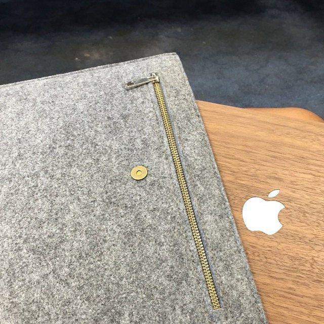 16Inch Macbook Pro Triangle flap felt macbook sleeve case for new macbook 12 macbook air 13macbook pro retina bag felt laptop case sleeve