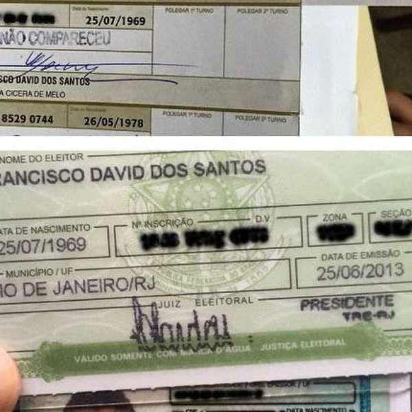 """No Instagram, David Brazil denuncia: """"votaram no meu lugar"""""""