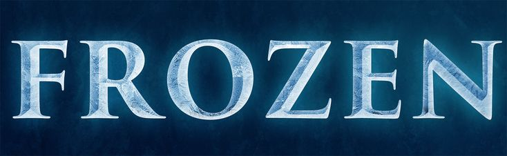 Disneys Frozen Text Effect in Photoshop Photo