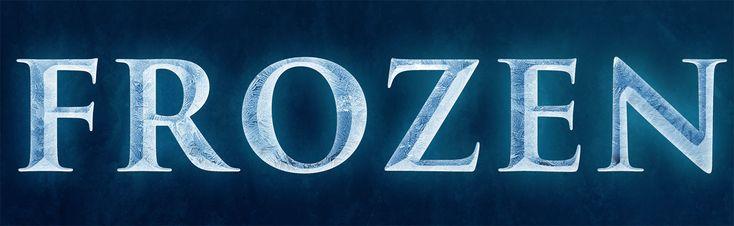 Disneys Frozen Text Effect in Photoshop Photo