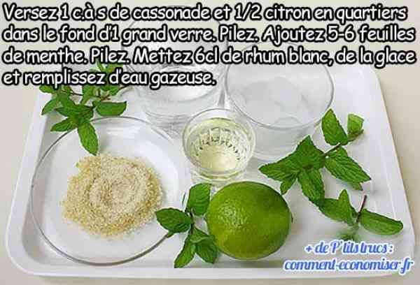 recette de mojito