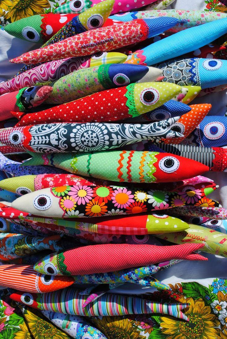 Felix murillo lleno de colores painting acrylic artwork fish art - Santos Populares