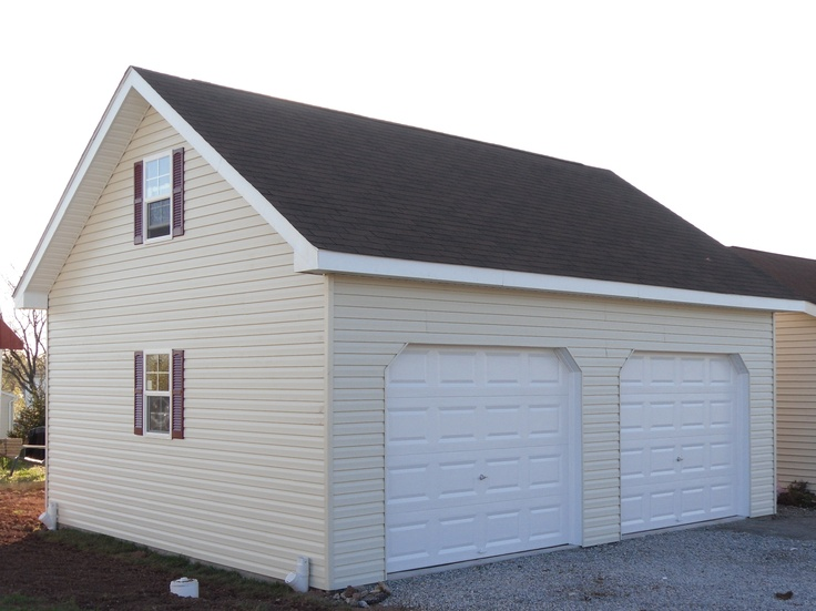 20x24 garage story and a half two story pinterest for Two and a half car garage