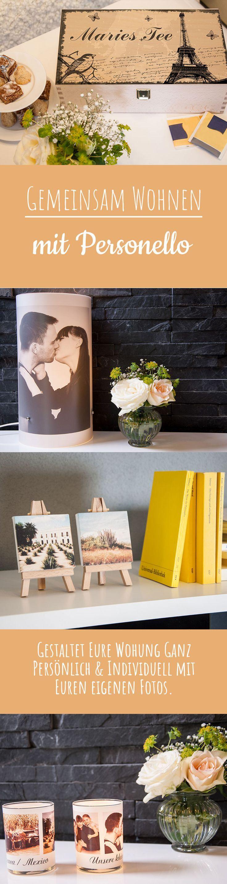 Gestaltet eure Wohnung ganz persönlich und individuell mit euren eigenen Fotos Schöner Wohnen Nicht