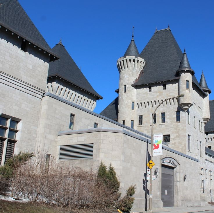 The McTavish Pumping Station at McGill University, chateauesque architecture, North Country Unfading Black roofing slate.
