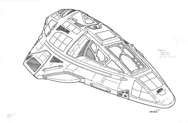 "Delta Flyer - ""Star Trek Voyager"""