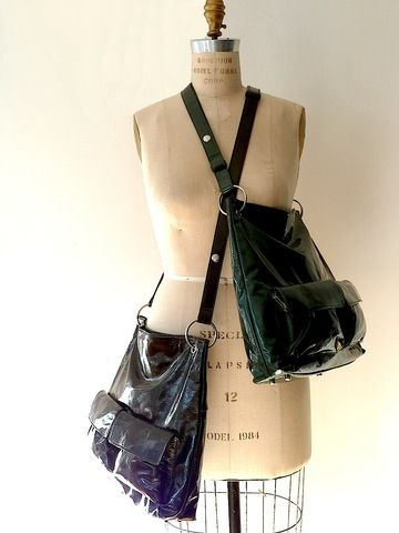 Sale Gapock X Crossbody Travel Bag Patent Leather by IMPERIO jp