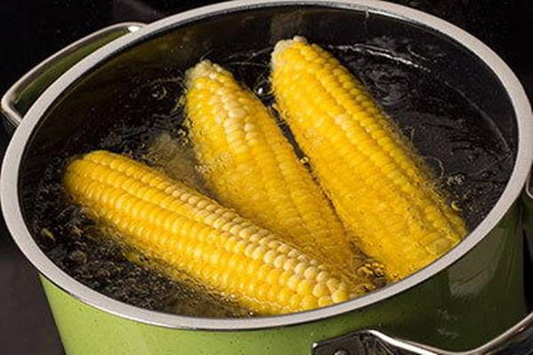 Főtt kukorica 3 perc alatt