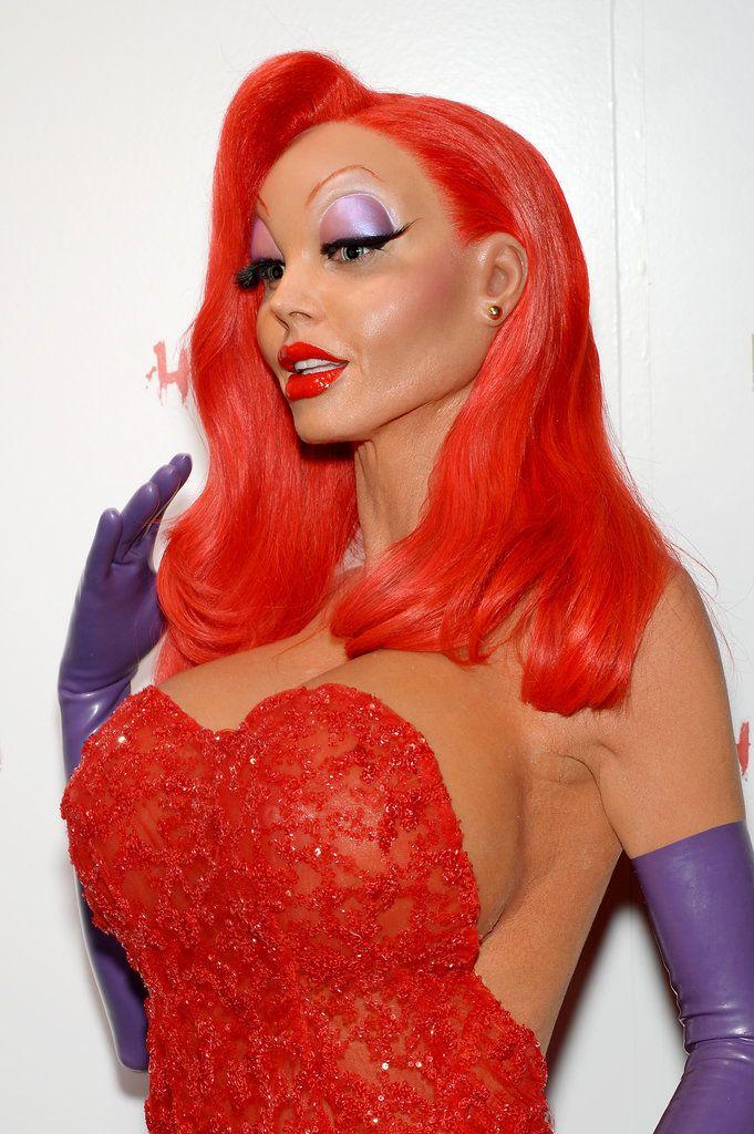 #HeidiKlum was almost unrecognizable as #JessicaRabbit this #Halloween! http://www.usmagazine.com/celebrity-news/news/heidi-klum-dresses-as-a-tk-for-annual-halloween-party-2015111