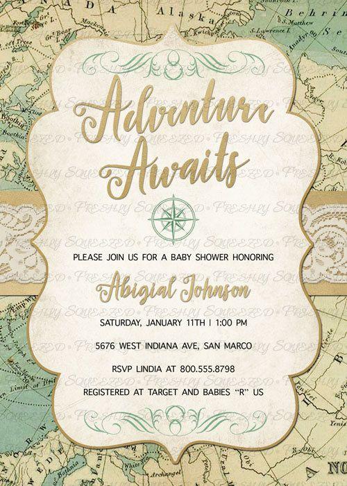 Digital Printable Invitations
