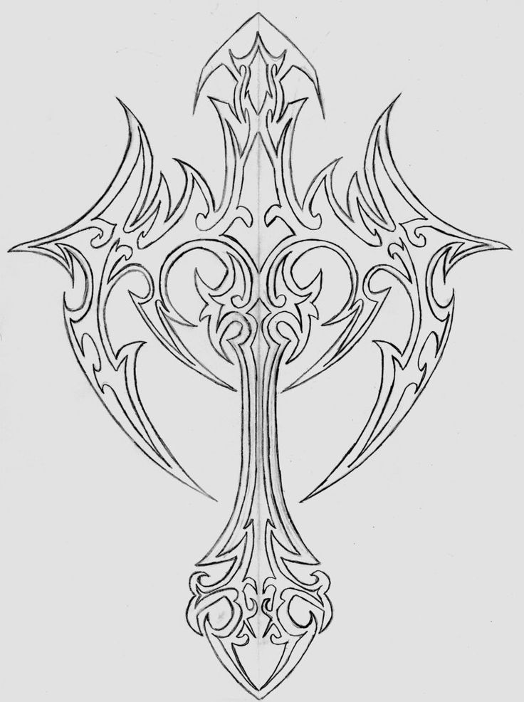 sketches of crosses   deviantART: More Like Jesus Crist 4 by *Haseo1970