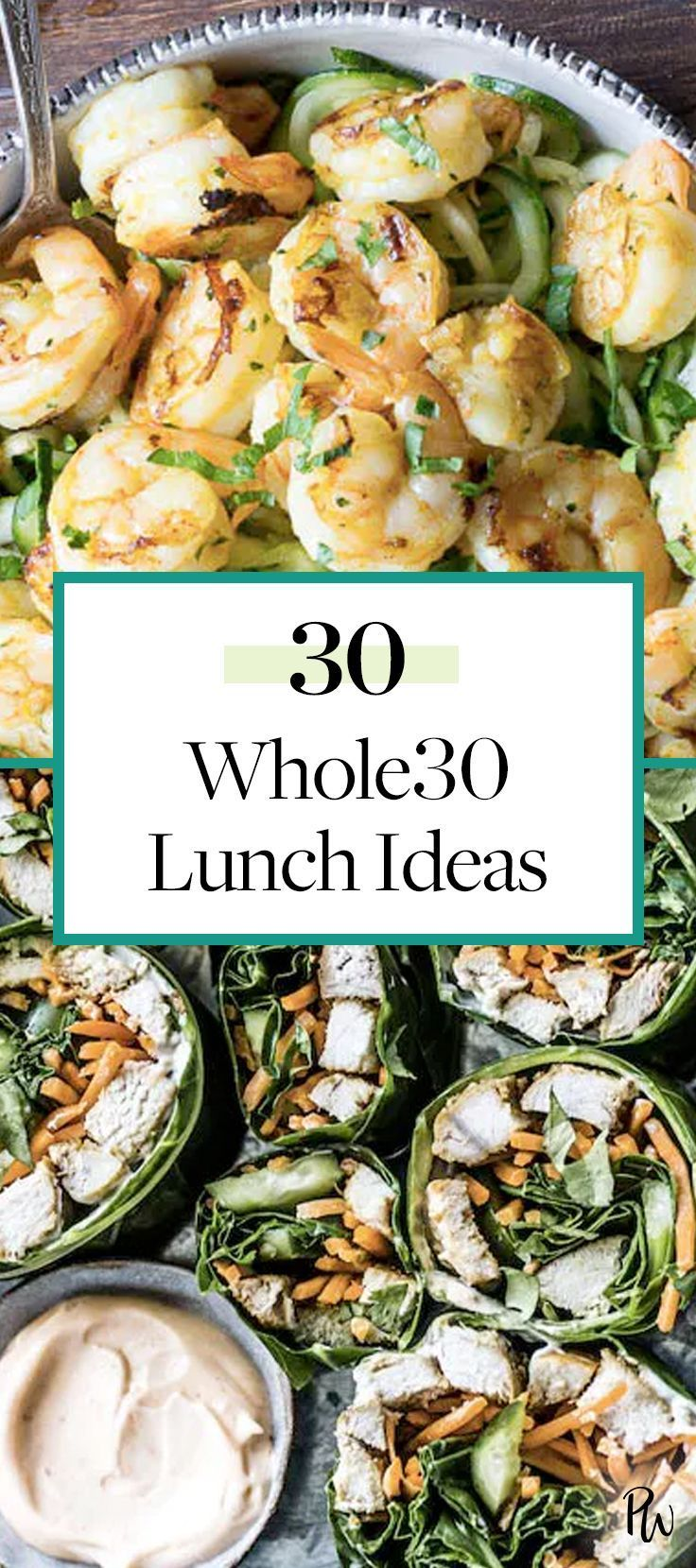 Whole30 Lunch Ideas!