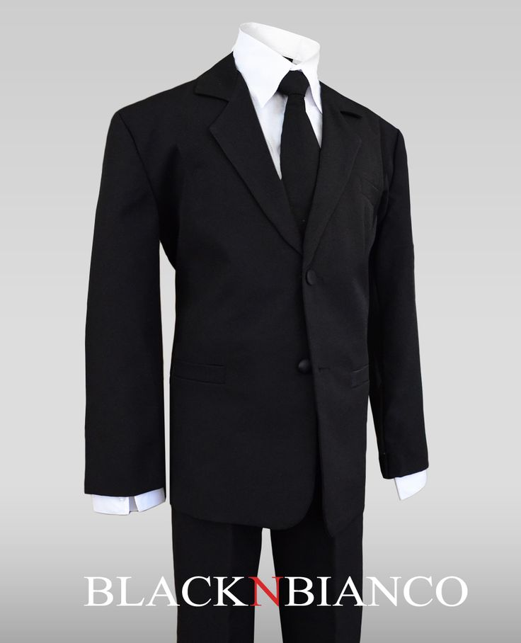 Boys Suits for Toddlers and Kids of all ages. Perfect for Ring Bearers by Black n Bianco