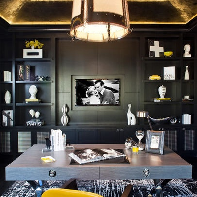 Masculine Office Design, Pictures, Remodel, Decor And Ideas   Page 4