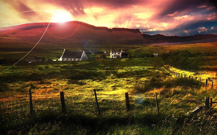scotland: Scottish Highlanders, Scotland Dreams, European Vacations, Farms Houses, Buckets Lists, Favorite Places, Peace Places, Baby Shower Games, Dreams Cottages