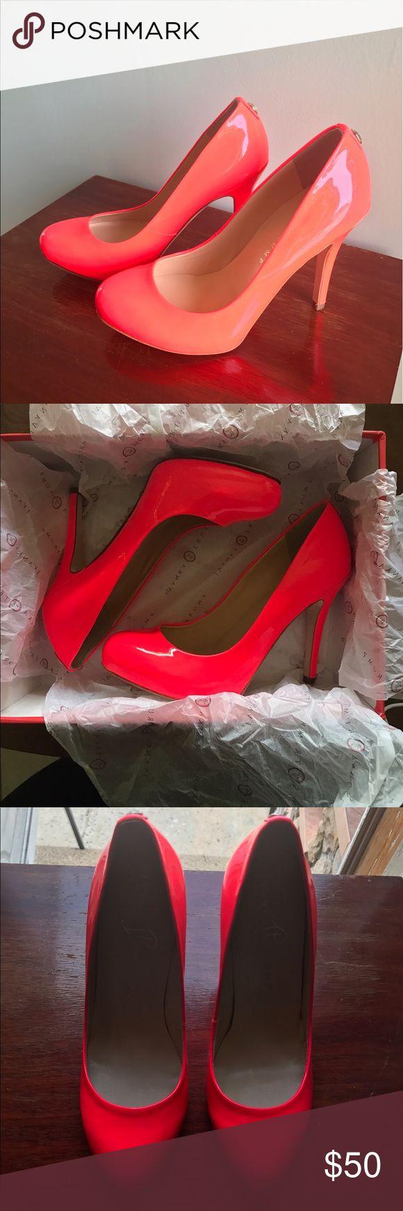 Ivanka Trump Pumps Reddish/Pink Ivanka Trump Pumps size 6.5. Brand new never worn and comes with box. Ivanka Trump Shoes Heels