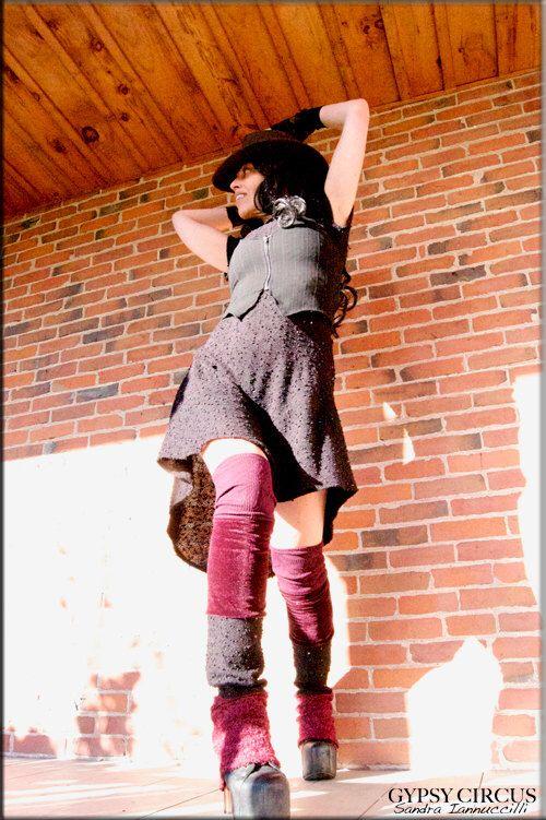 Thigh High Leg Warmers - Clothing Accessory - Steampunk - Playa Wear - Tall Socks - Sexy Leggings - Patchwork - Hippie Leggings - One Size by GypsyCircus on Etsy https://www.etsy.com/listing/210317544/thigh-high-leg-warmers-clothing