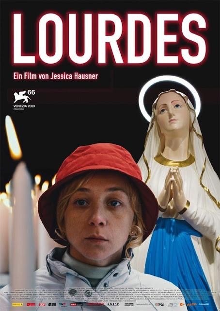 Lourdes, 2009 con Sylvie Testud, Léa Seydoux, Elina Löwensohn, Bruno Todeschini, Irma Wagner. Scritto e diretto da Jessica Hausner.