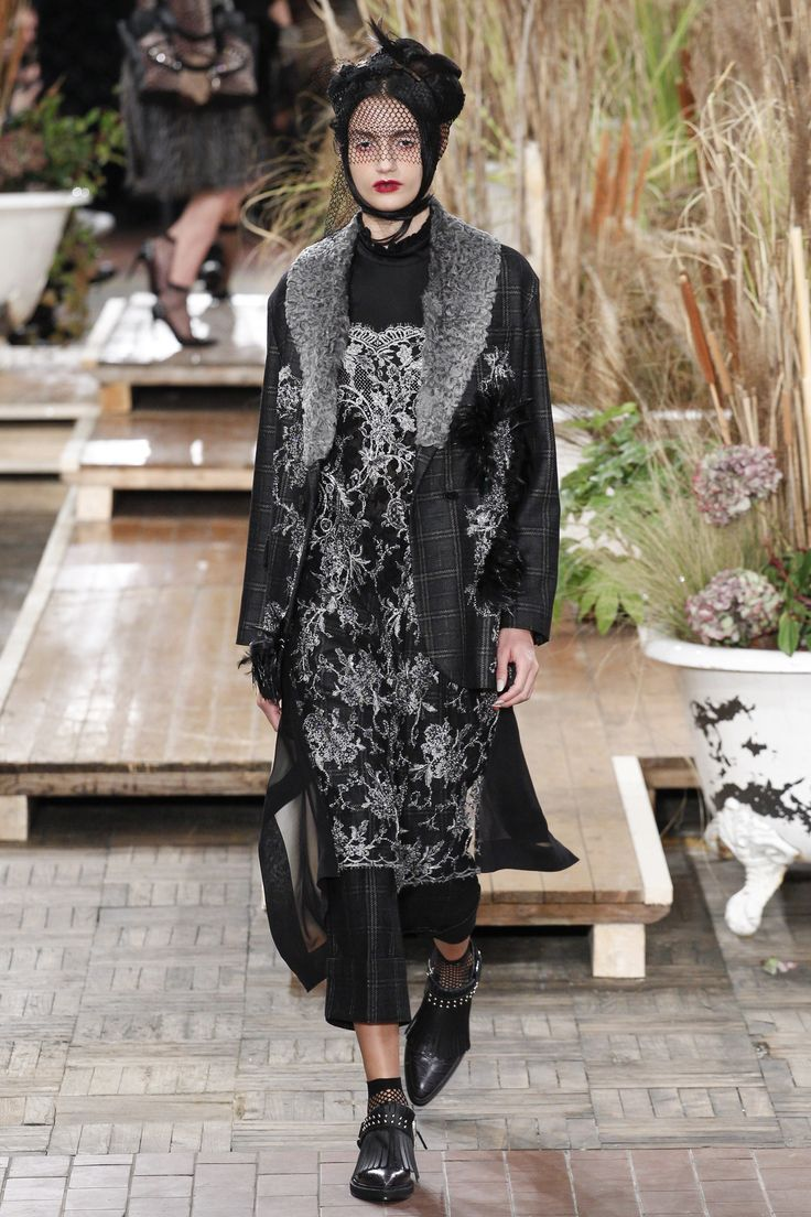 Antonio Marras Fall 2016 Ready-to-Wear Collection Photos - Vogue...dressed-up tailored grunge, love it...