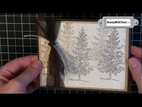 Dazzling Dryer Sheet Holiday Sparkle Card - WOW