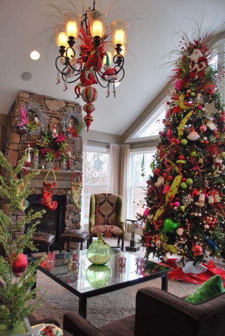 521 best christmas trees images on pinterest christmas for Whimsical decor