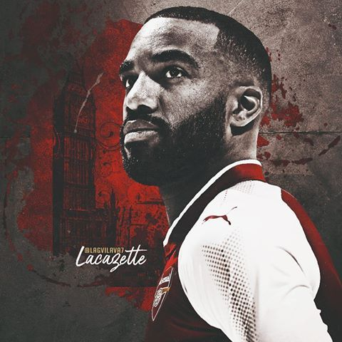 Alexandre Lacazette #LacaNewSigning #Arsenal