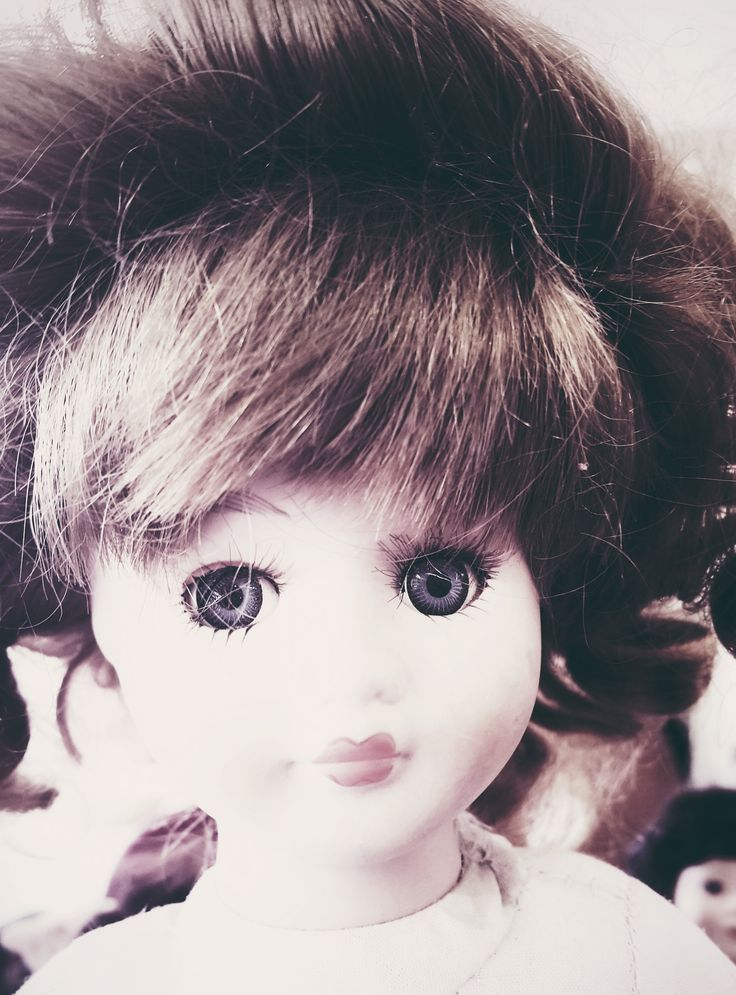 'Clarissa', Charity shop doll.