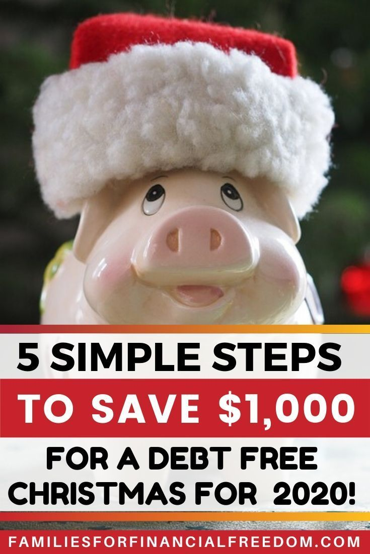 Free Christmas Dinner Near Me 2020 5 Super Simple Steps to Save for a Debt Free Christmas for 2020