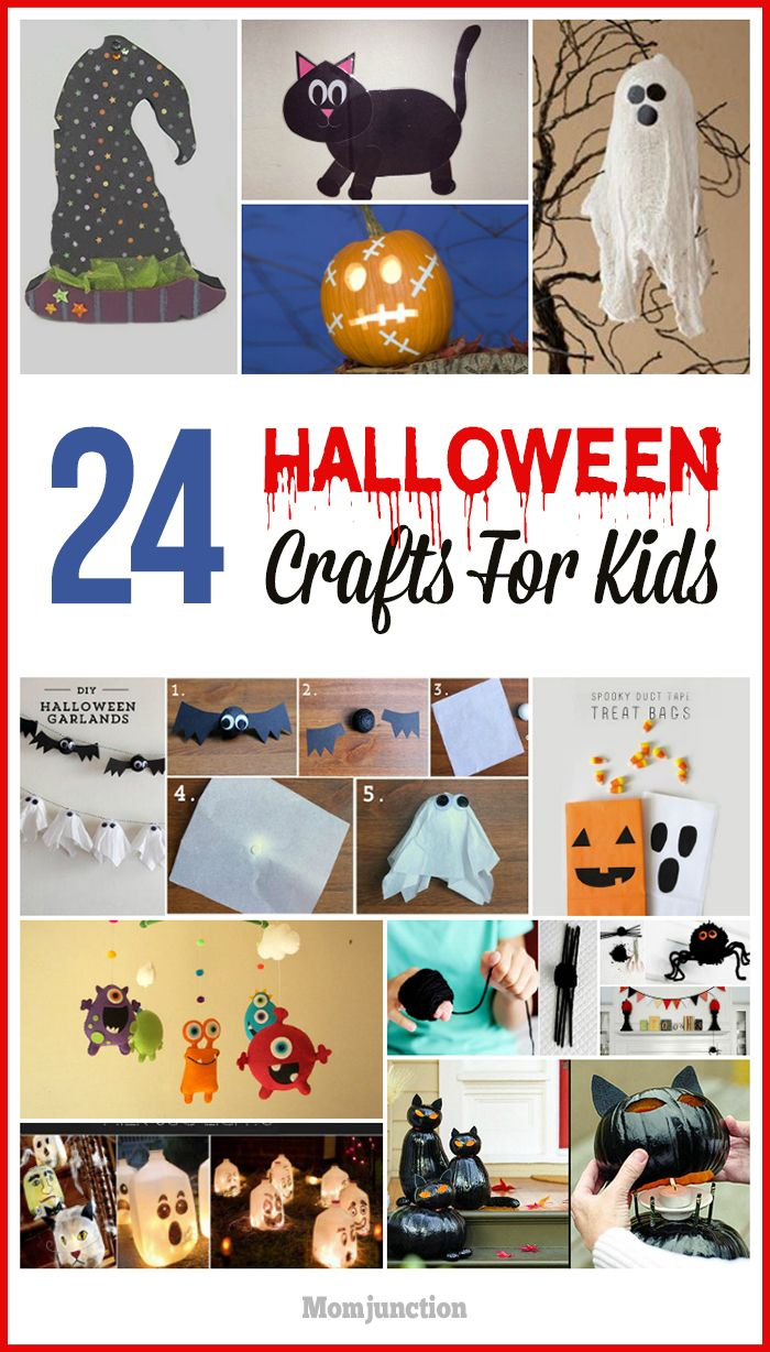 24 best and simple halloween crafts for kids - Halloween Simple Crafts