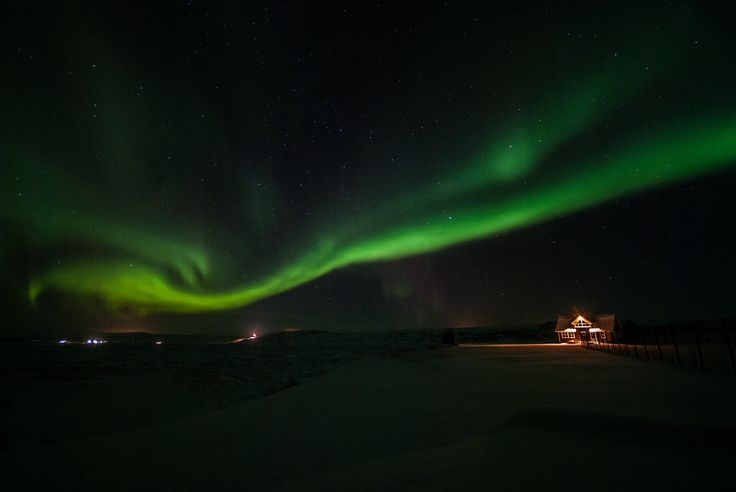 """For the Northern light near Mývatn, is probably this place the best - 65°39'13.1""""N 16°55'13.5""""W 65.653644, -16.920426"""