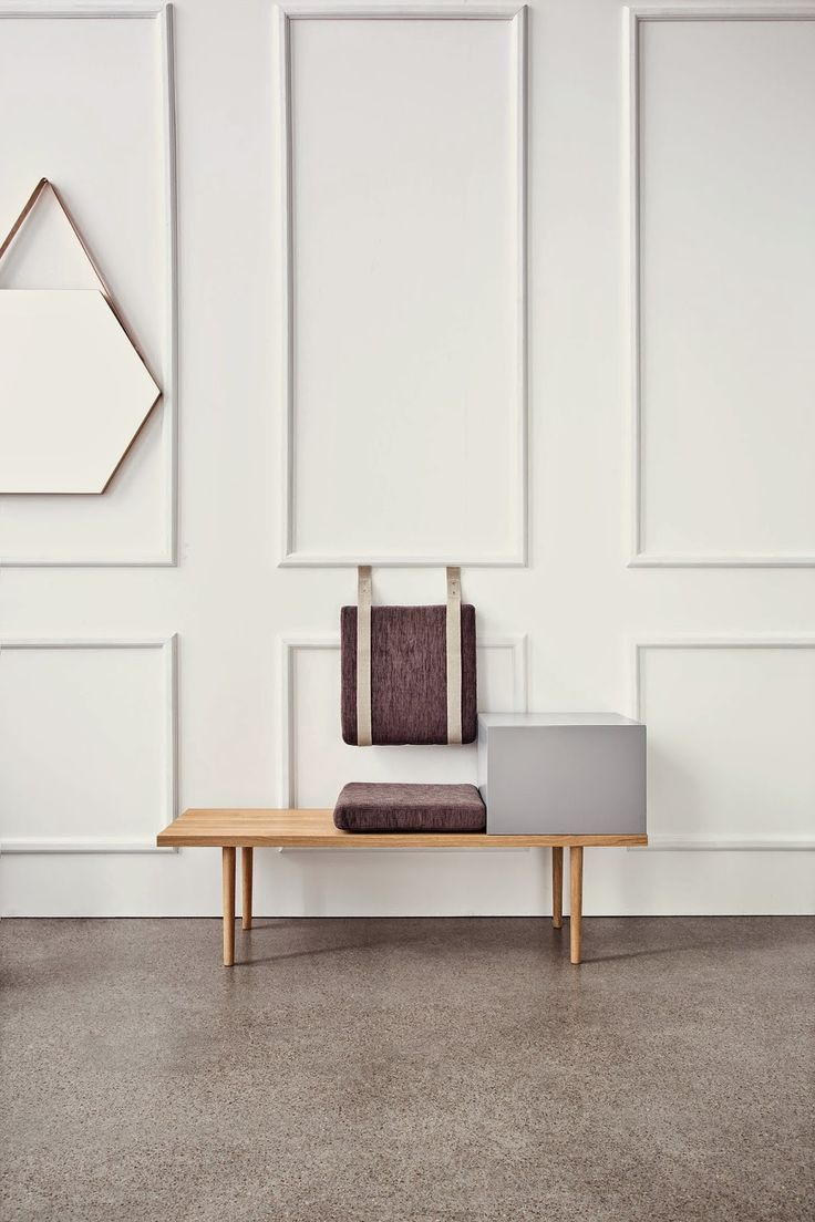 Sit + Store | Berlin Bench by Hertel & Klarhoefer for Bolia