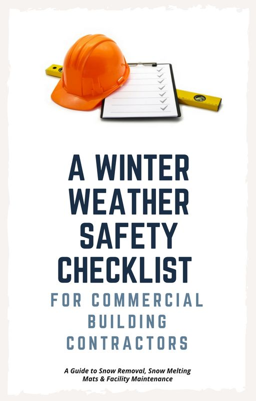 When hiring a commercial building contractor during winter, you should make sure that the contractor is fully insured and has long experience at working in winter weather conditions.