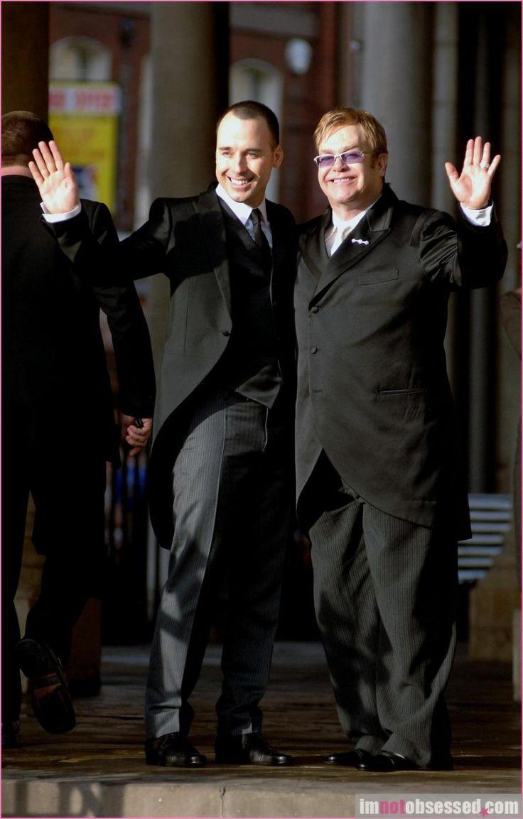 Elton John & David Furnish 2005 #Wedding