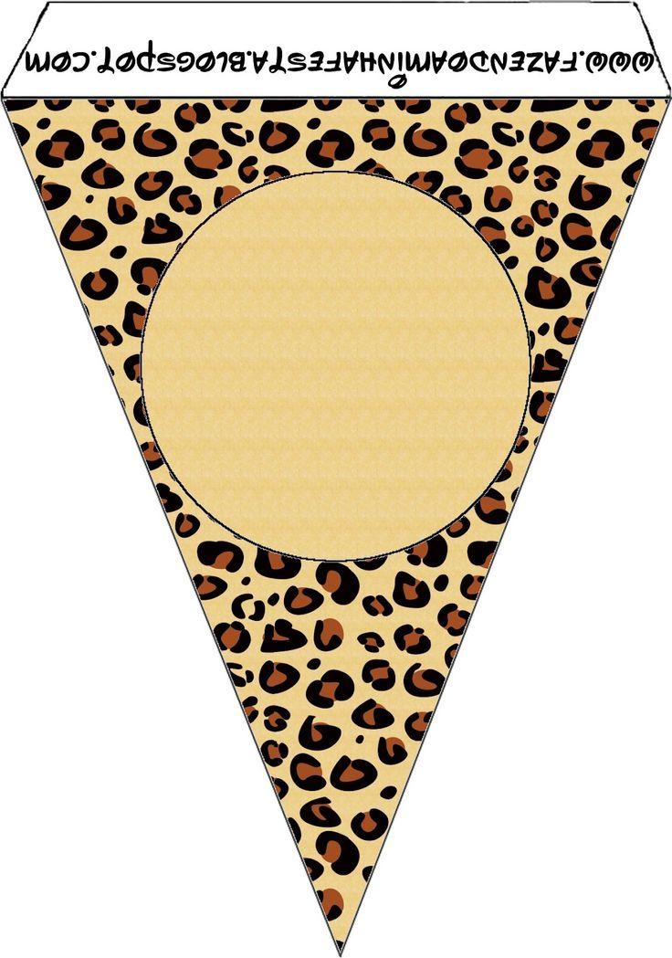 Imprimibles piel de leopardo 2.   Ideas y material gratis para fiestas y celebraciones Oh My Fiesta!
