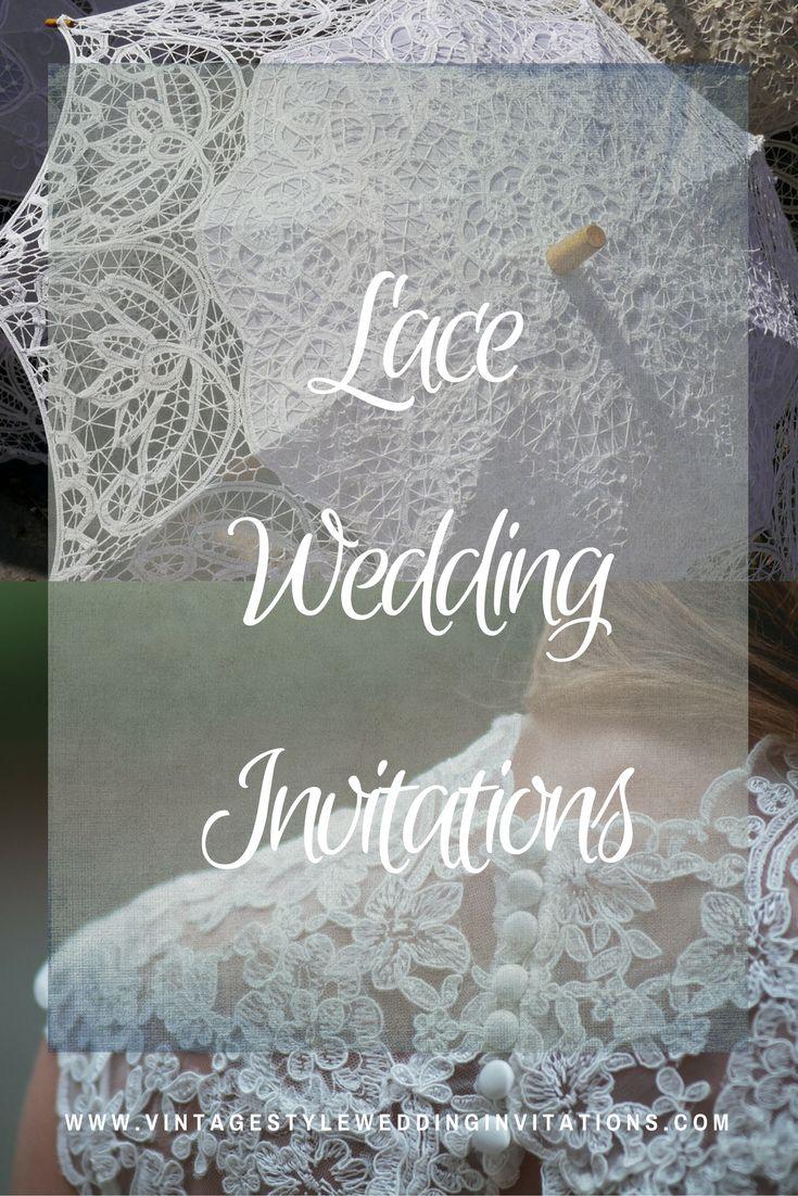 vintage doily wedding invitations%0A Beautiful printed lace custom wedding iinvitations  selection of best  selling styles  Lace Wedding InvitationsVintage Lace WeddingsTraditional  Weddings