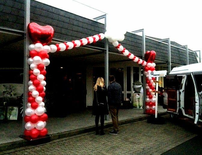 Der Eingang zur Göttinger Hochzeitsmesse 2014