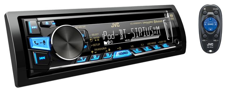 JVC Arsenal KD-AR865BTS Single Din Bluetooth CD/MP3/USB Car Stereo Receiver. JVC KD-AR865BTS AM/FM/CD/MP3/Bluetooth/USB RECEIVER w/SiriusXM Ready PANDORA INTERNET RADIO & Ipod & Iphone CONTROL Single Din. 12 Volt DC Power Required, Automobil use. Priced and Sold as Each. Stock and Sold By CarAmpAndSpeaker.