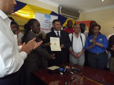 Capwell Industries Joins The 40 Companies In Kenya With HACCP Certification On Food Safety Management Systems.