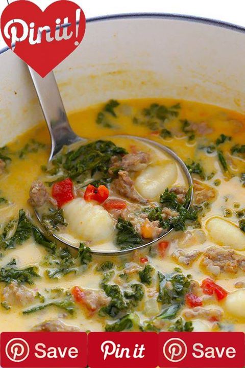 7-Ingredient Zuppa Toscana (Creamy Gnocchi Soup with Sausage and Kale) 30 mins to make serves 4-6 If you love this classic restaurant-style soup youll love the easy homemade version made with gnocchi sausage and kale! Ready to go inIngredientsMeat1 lb Italian sausage ground hotProduce1 bunch Kale1 White onion smallCanned Goods4 cups Chicken stock good-qualityPasta & Grains1 lb Delallo potato gnocchi Baking & Spices1 (12-ounce) jar Delallo roasted red peppers1 Salt and pepper Dairy1/2 cup…