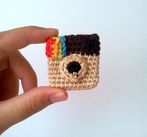 Instagram Pin ig Icon Brooch by sabahnur on Etsy, $16.00