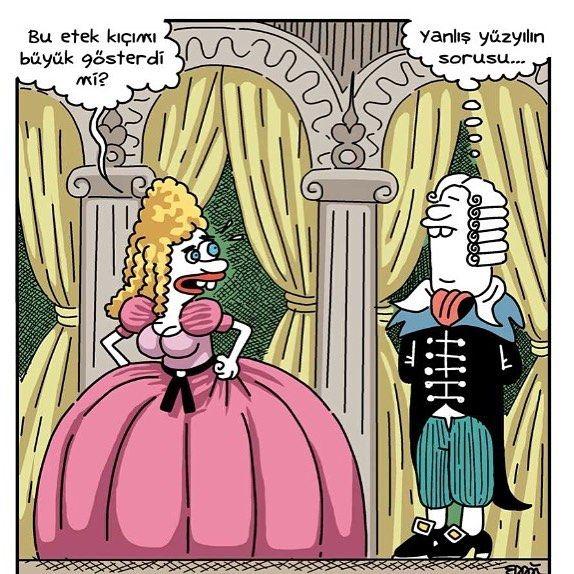 Yalnış yüzyılın sorusu... #karikatür #erdil #yaşaroğlu #komik