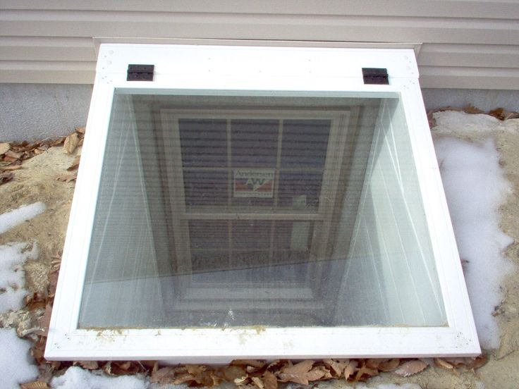 Unique Basement Window Well Decoration Ideas