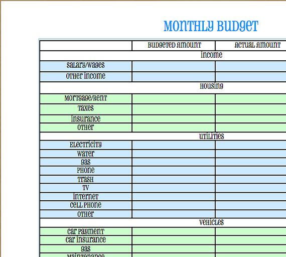Best 25+ Monthly expense sheet ideas on Pinterest Monthly budget - generic expense report