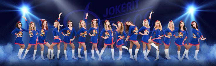 Jokerit Dance Team myös paikalla! #expertexpo2014