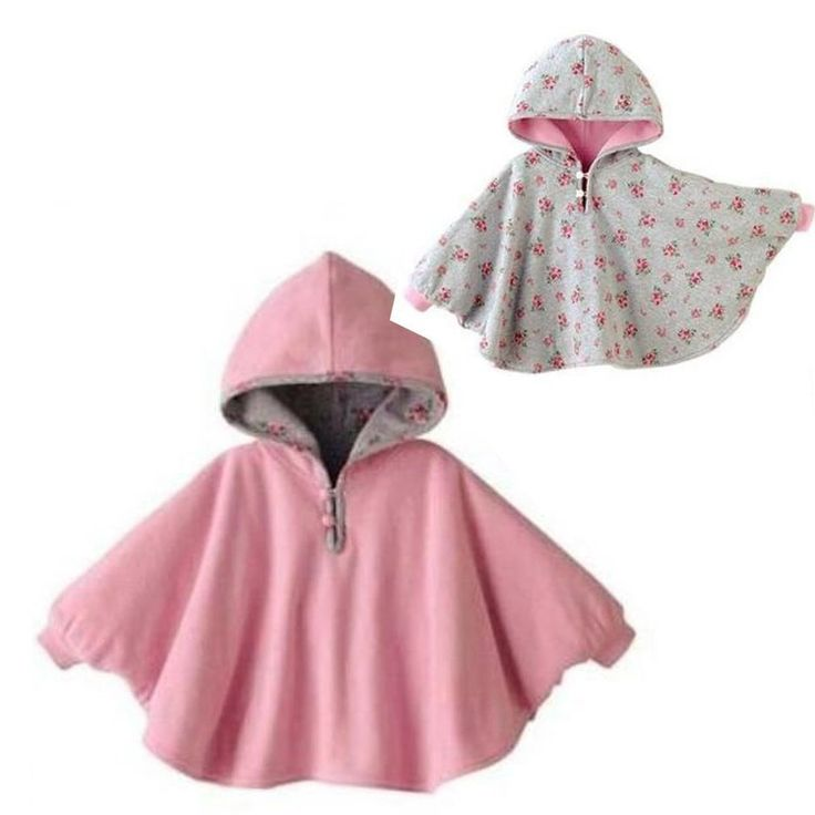 baby girls unisex double side poncho mantle wraps coat clothing baby toddler coat. Black Bedroom Furniture Sets. Home Design Ideas