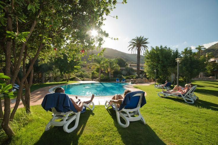 Pool Oasis at Cruccuris Resort, Villasimius Sardinia